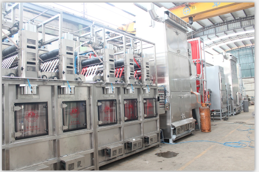 Seatbelts/Safety belts continuous dyeing and finishing machine KW-800-AQS200