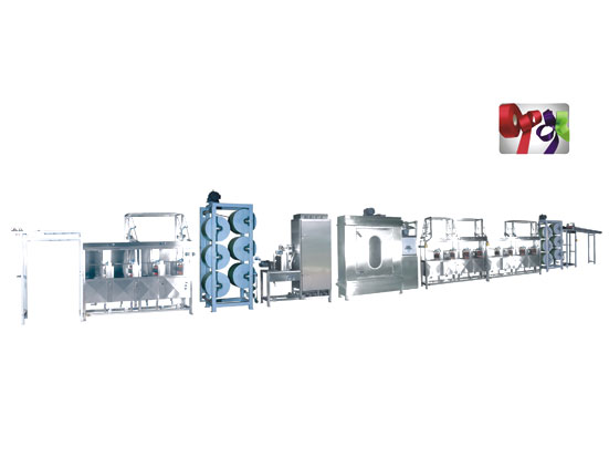 KW-812-400 Satin ribbons label ribbons continuous dyeing machines
