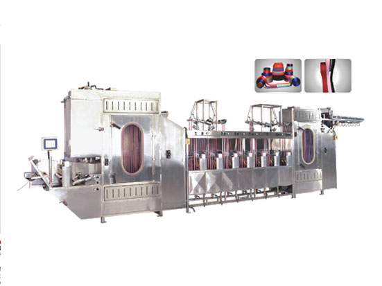 KW-818 Satin ribbons/label ribbons continuous dyeing machines
