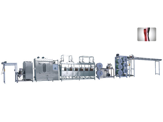 KW-811-400 Satin ribbonslabel ribbons continuous dyeing machines