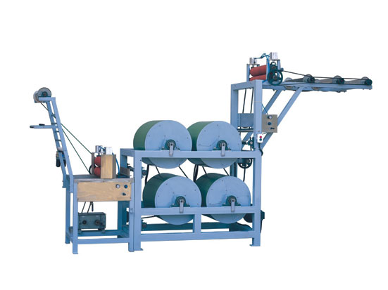 KW-702A starching and finishing machine(4-Cylinders)