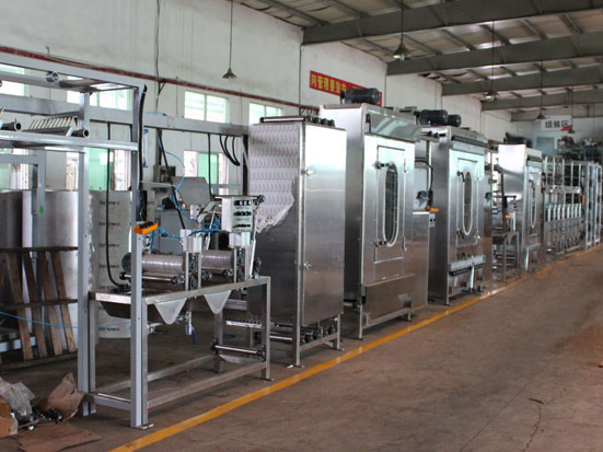 KW-800-XB400-C luggage & suitcase belts/webbing continuous dyeing machine