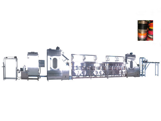 KW-800-XB400 luggage & suitcase belts/webbing continuous dyeing machine