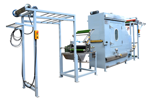 KW-818-B Curtain tapes starching and finishing machine